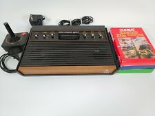 Atari 2600 Woodgrain 6-Switch Console Video Game System bundle mint condition
