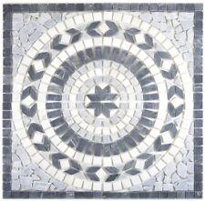 Dekor 61x61x1 Earth nero, bianco, bardiglio Mosaikfliese Wand Fliesenspiegel ...