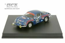 Alpine Renault A110 1600 - Rallye Monte Carlo 1973 - Henry - 1:43 Trofeu 0823