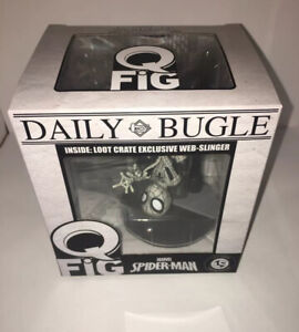 QFig Marvel Spider-Man Lootcrate Exclusive Web-Slinger Limited Edition