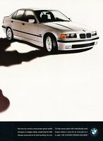 1996 BMW 328i 2-page -  Original Advertisement Print Art Car Ad J557