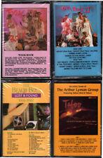4 SEALED DCC Audiophile Label Cassette Tapes - Beach Boys, Toga Rock x 2, Lyman