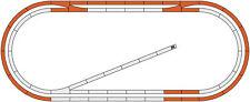 Roco 51250 Gleisergänzungsset 1 zu Digital-Startsets H0