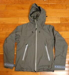 KAWS OriginalFake Gore-Tex Snowboard Jacket Ski Size 1 Grey Authentic