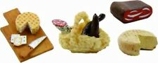 Krippenzubehör Lebensmittel Wurst Jausen Set 4 teilig