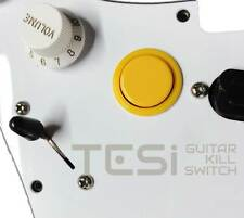 Tesi DITO Snap-in 24MM Guitar Arcade Button Kill Switch Solid Yellow
