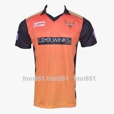 IPL 2019 IPL 12 SRH Sun Risers Hyderabad Jersey Shirt Shirts T-Shirt Adult Size