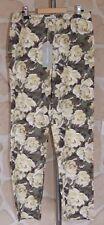 Pantalon motif fleuri neuf taille 38 marque Gérard Darel (v)