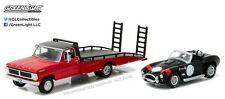 Greenlight 1:64 Heavy Duty Series 8 1970 Ford F-350 Ramp Truck With Shelby Cobra
