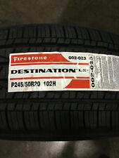 1 New 245 50 20 Firestone Destination LE2 Tire