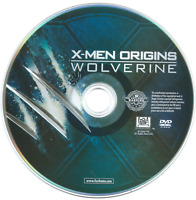 X-Men Origins: Wolverine (DVD, 2009) Movie Replacement Disc FREE SHIPPING! /USA