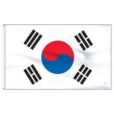 5'x8' South Korea Korean Flag Super-Poly 5x8 foot (150D Super Polyester) Banner