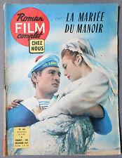 ► ROMAN FILM COMPLET CHEZ NOUS N°62 - 1961 - LA MARIEE DU MANOIR