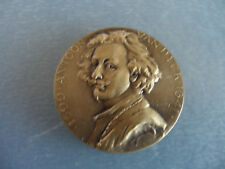 Anthony van Dyck - Antoon van Dyck Portrait - 30 mm 3D Bronze Medal / Medallion