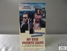 My Own Private Idaho VHS River Phoenix, Keanu Reeves, James Russo