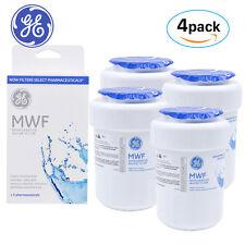 4PACK GENUINE GE MWF MAWF SmartWater Fridge Water Filter Cartridge New Sealed