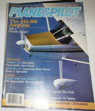 Plane & Pilot Magazine Cessna 170 & Mooney 205 November 1986 080514R