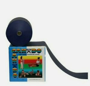 5 feet of BLUE Cando Band (TheraBand) Physical Therapy Exercise Latex-free Rehab