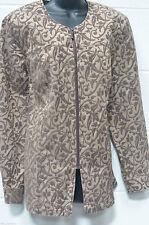 Zip Cotton Blend Blazers Plus Size Coats & Jackets for Women