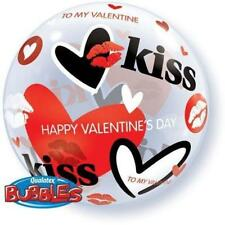 Party Supplies Valentines Day Love 56cm Single Bubble Valentine's Kisses Balloon