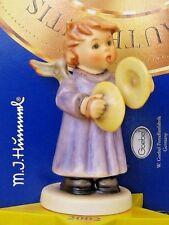 HUM #2096/U CYMBALS OF JOY TM8 GOEBEL M.I. HUMMEL FIGURINE ANNUAL ANGEL MIB V585