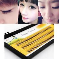 60pcs Individual False Long Eyelash Cluster Eye Lashes Extension Natural Look