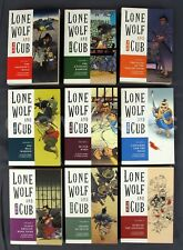 Lot of 9 Dark Horse Comics Lone Wolf and Cub TPB #1 2 3 4 5 6 7 8 9 1st Editions