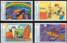 Greece- 2000 The future through the eyes of children complete set MNH **