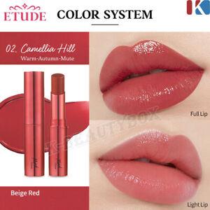 Etude House Mood Glow Lipstick #02 Camellia Hill Lip Stain Korean Cosmetics NEW