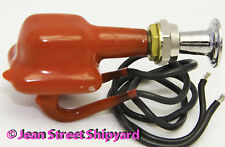 Marine Boat Waterproof Plasticized Coated 2 Position Push Pull Switch SPST 11841