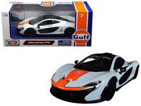 Motormax 79642 McLaren P1 1:24 Gulf Oil Light Blue