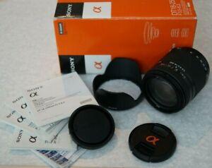 Sony A Mount 18-250mm f/3.5-6.3 DT Lens -SAL18250 - Sony SLT Minolta - Like New