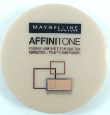 Maybelline Affinitone Foundation Powder Perfecting 42 Dark Beige 9g (2 PACK)