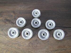 8 Korbrollen Rad  Rollen Spülmaschine Oberkorb Bosch Siemens Neff