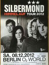 SILBERMOND 2012 BERLIN - orig.Concert Poster  --  Konzert Plakat  A1 NEU