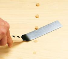 Gyokucho - Razorsaw 125mm Japanese Wood Saw Double Edges FLUSH CUTTING KUGIHIKI