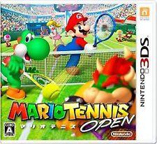 Mario Tennis Open Nintendo 3DS Video Games