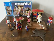 Playmobil Knights Castle King & Queen King's Court Set 3659 boxed RARE 8 figures