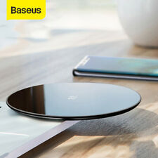 Baseus 10W Wireless Charger Fast Charging Pad for Huawei P30 Pro P20 Samsung S10