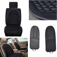 2 Pcs Car Auto Seat Cushion Massage Padded Therapy Bubble Black Chair Pad Cover