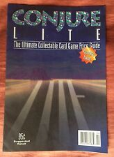 Conjure Lite Price Guide, Premiere Issue, April 1995, Collectable Card Game