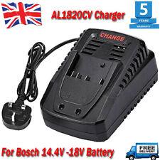 For Bosch AL 1820 CV 14.4V - 18V Li-Ion Battery Charger AL1860CV BAT607 BAT609