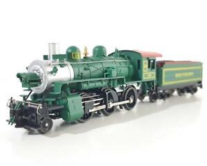 MEHANO T002/29265 HO - SOUTHERN GREEN LIVERY, 2-6-0 MOGUL STEAM ENGINE #145