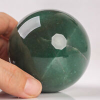447g 68mm Natural Green Aventurine Sphere Quartz Crystal Healing Ball Chakra