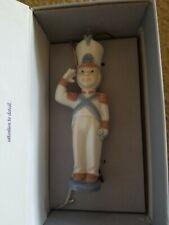 "Lladro Santa's Workshop ""Toy Soldier"" Xmas Ornament #6345 Mint W/Box"