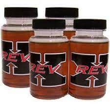 REV X OIL TREATMENT ADDITIVE -- 4 BOTTLES