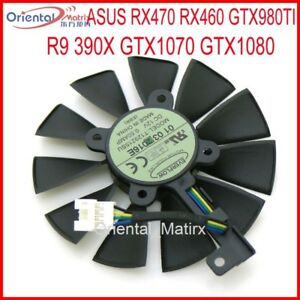 T129215SU For ASUS Strix RX470 RX460 GTX980TI R9 390X GTX1080 Graphics Card Fan