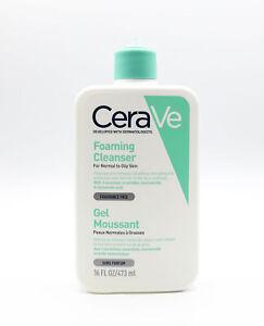 CeraVe Foaming Facial Cleanser 473ml - NEW - No Pump Top