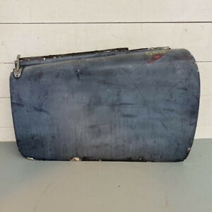 Original 1958 MG MGA Coupe Front Right Passenger Side RH Door w Handle OEM