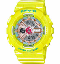 Casio Baby-G Women's  Neo-Pastel Yellow Ana-Digital Watch BA110CA-9A
